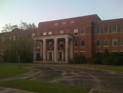Conway Memorial Hospital - Abandoned in Monroe, LA