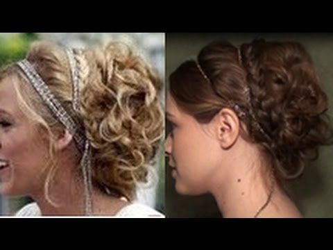 video: Serena's White Party Updo #hair #tutorial. This girl makes it look SO easy! I just need product that will make my hair stay like that longer.
