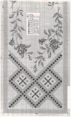 Всем, кто вяжет, дарю старые идеи для новых работ - Хардангер + цветы .......................................