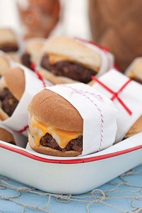 Check out what I found on the Paula Deen Network! Bacon Cheeseburger Sliders http://www.pauladeen.com/recipes/recipe_view/bacon_cheeseburger_sliders