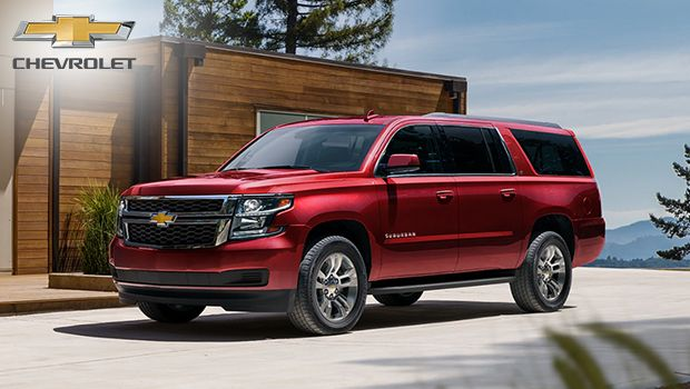 2020 Chevrolet Suburban Large Suv With An Ecotec V8 Engine