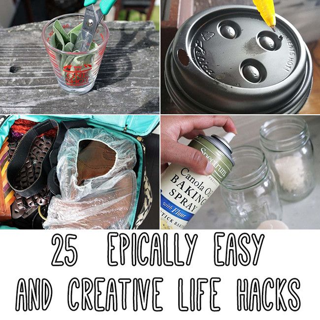 25 More Life Hacks For Easy Solutions To Annoying Problems