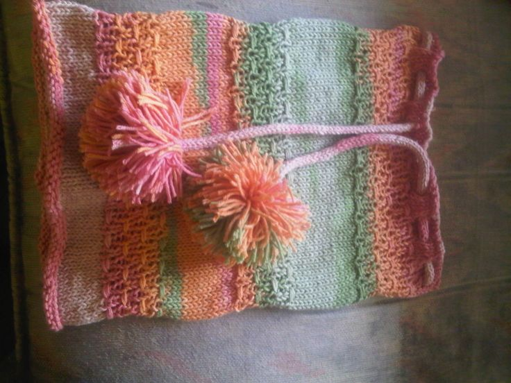 hat plus scraft knitting