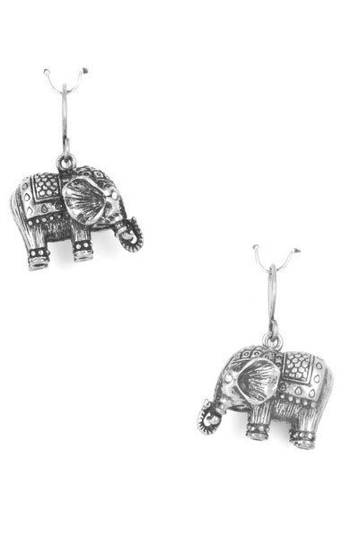 Pin-up Darling - Antique Elephant Earrings , $12.95 (http://www.pinupdarling.com/antique-elephant-earrings/)