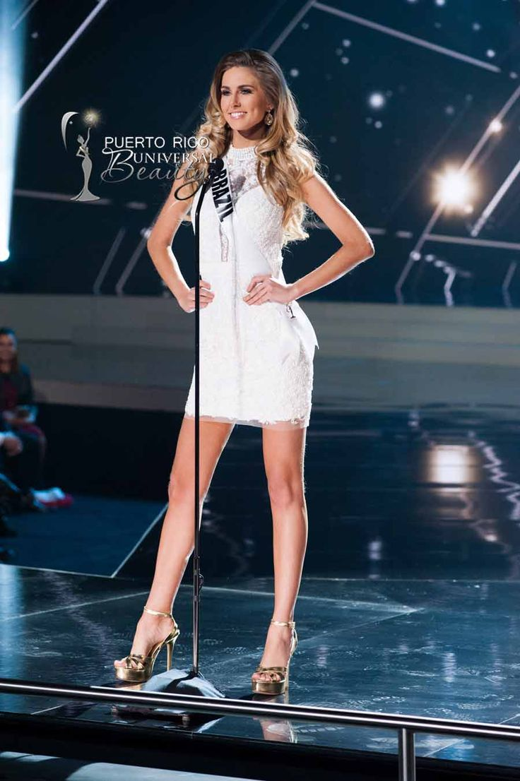 MISS UNIVERSE 2015 :: PRELIMINARY COMPETITION OPENING | Marthina Brandt, Miss Universe Brazil 2015, on stage in fashion by Sherri Hill and footwear by Chinese Laundry during the opening of The 2015 MISS UNIVERSE® Preliminary Show at Planet Hollywood Resort & Casino Wednesday, December 16, 2015. #MissUniverse2015 #MissUniverso2015 #MissBrazil #MissBrasil #MarthinaBrandt #PreliminaryCompetition #Opening #LasVegas #Nevada