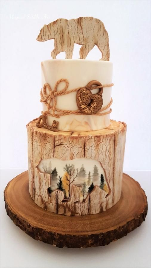 Rustic cake by Nadia