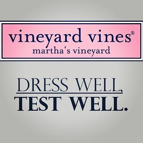 dress well :: test well