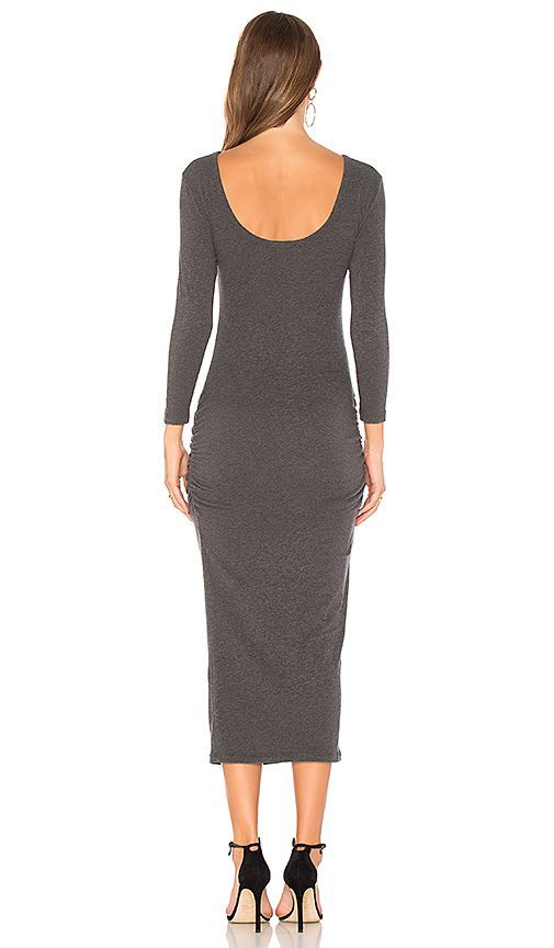 Shop for James Perse Low Back Skinny Dress in Heather Charcoal at REVOLVE. Free 2-3 day shipping and returns, 30 day price match guarantee.