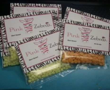 Perfect for Pink Zebra Sprinkles samples!! http://www.pinkzebrahome.com/nancyk