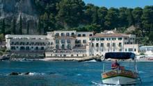 The Villa Sant'Andrea Sicily Hotel on the coast of Taormina Mare (Tommy Piccone)