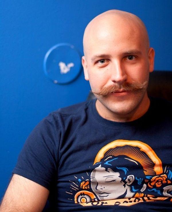 Najboljših 25 Bald Men Ideas na Pinterest Lepo videti Bald-4592