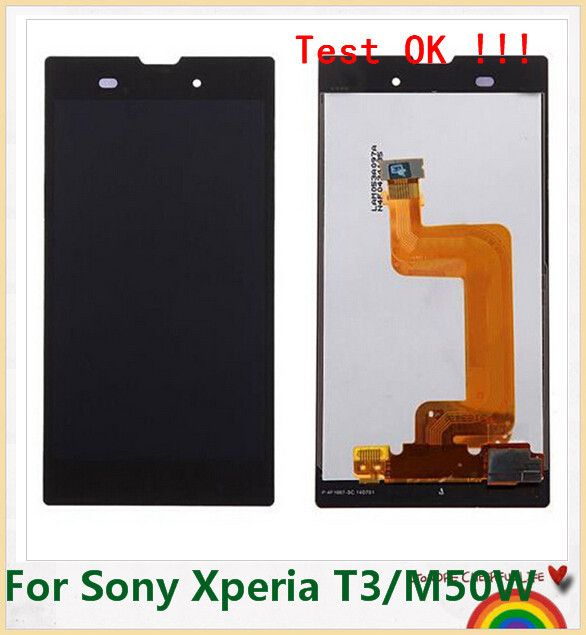 Great item for everybody.   New Replacement White or Black For Sony Xperia T3 m50w D5102 D5103 D5106 Lcd Display Touch Screen - US $54.80 http://allphonesshop.com/products/new-replacement-white-or-black-for-sony-xperia-t3-m50w-d5102-d5103-d5106-lcd-display-touch-screen/