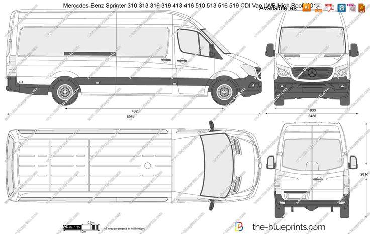 Mercedes sprinter 313 cdi mwb dimensions