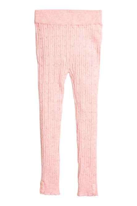 Colanți tricotați cu torsade
