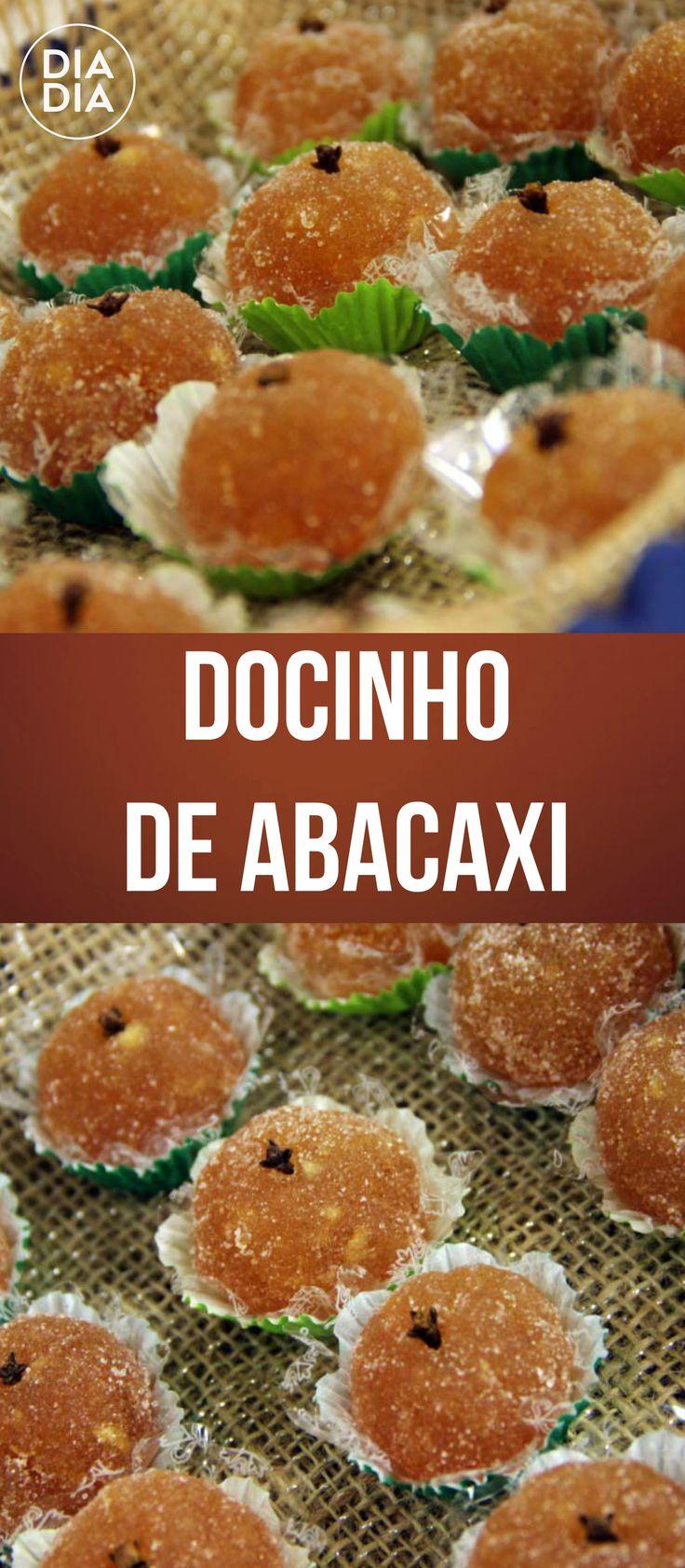 Docinho de Abacaxi