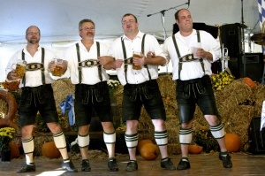 No German schlagers and Octoberfests for me.
