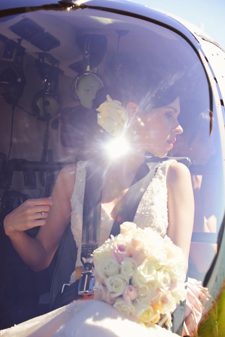 Wedding Photographer - Lisa Michele Burns - Destination Wedding - Helicopter Transport