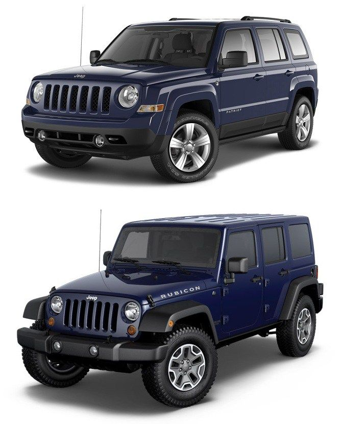 Best Jeep Wrangler Vs Jeep Patriot