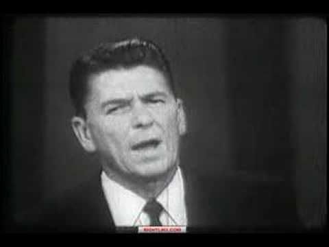 Ronald Reagan - A Time for Choosing  (October 27, 1964)  ...Still amazingly relevant today