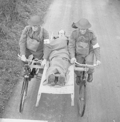 human powered ambulance