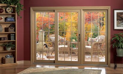 Center opening sliding patio doors google search for Center sliding patio doors