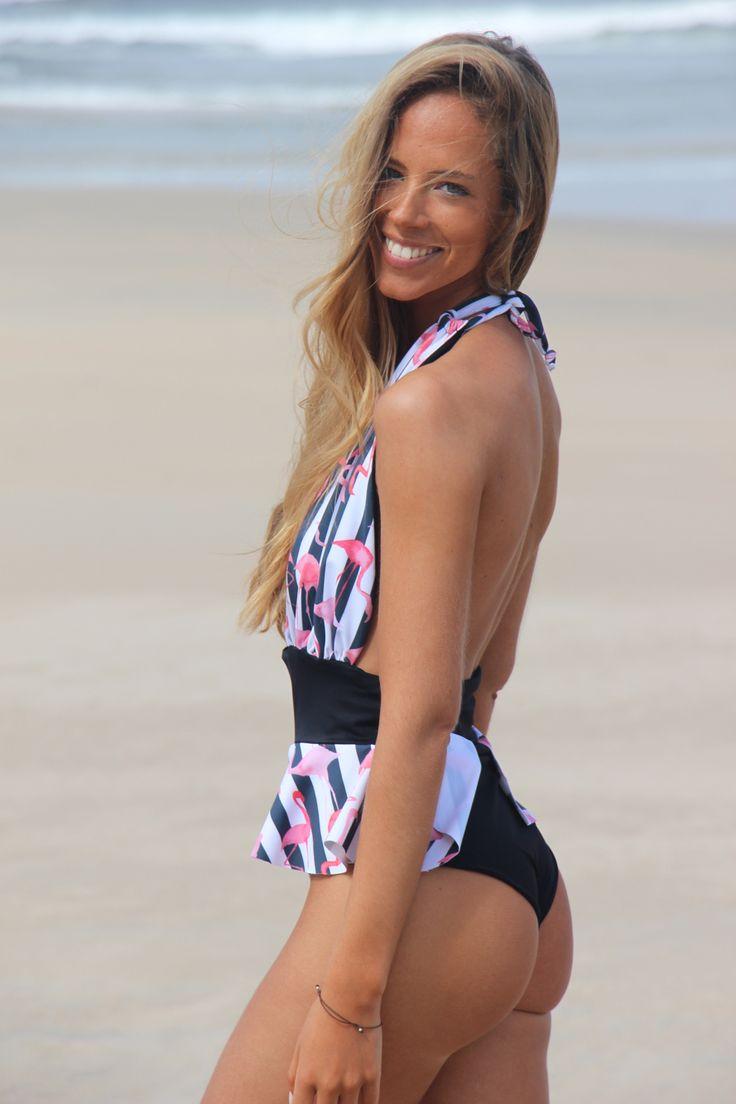 Frambooesas swimsuit. Swimwear 2016