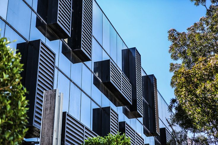 12 x hand operated louvre panels installed for The Block Glasshouse | Vanguard Blinds / Louvretec