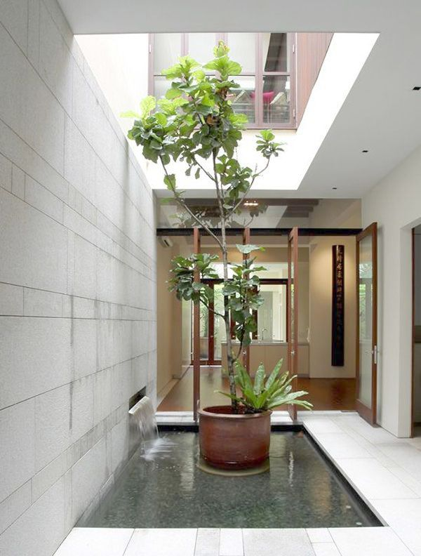 Landscape Gardening Drawing This Landscape Gardening Costs Uk With Images Courtyard Design Interior Garden Indoor Courtyard