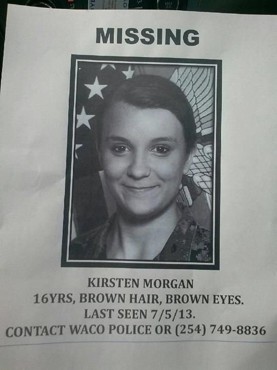 A pinner says....Please help us find my niece. Please! Everytime you share my nieces pic it reaches that many more people. You sharing this could be the share that reaches the right person! Please share this FOR MY NIECE! KIRSTEN AUNT KK LOVES YOU SO MUCH BAAABBBYYYY! MY HEART IS CRYING FOR YOU!