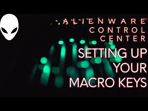 Did you know that Alienware systems have a bank of keys specifically set up so you can configure them in Alienware Control Center as macro keys for gaming?  Make your gaming more fun and watch this video from #Alienware on how to configure those macro keys.