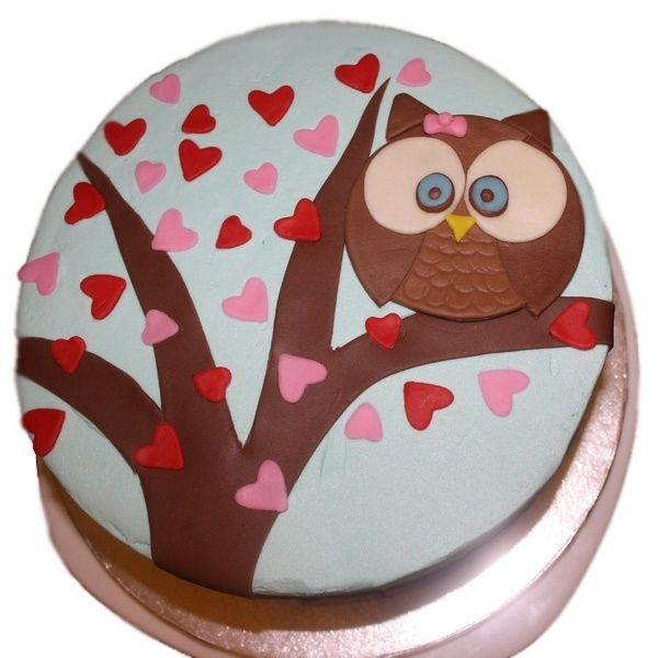 Owl Cake Ideas Pinterest