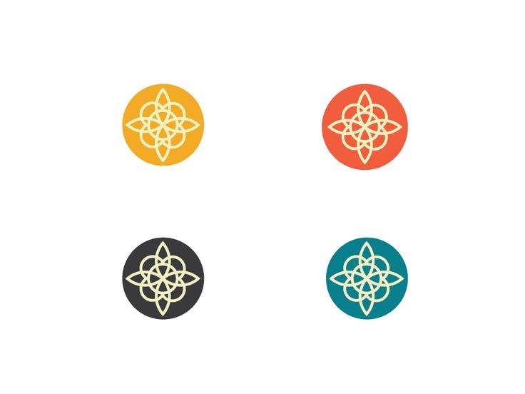 Logo Design by Pradeep Mudiraj for Simple logo - mandala symbol - Design #2261981