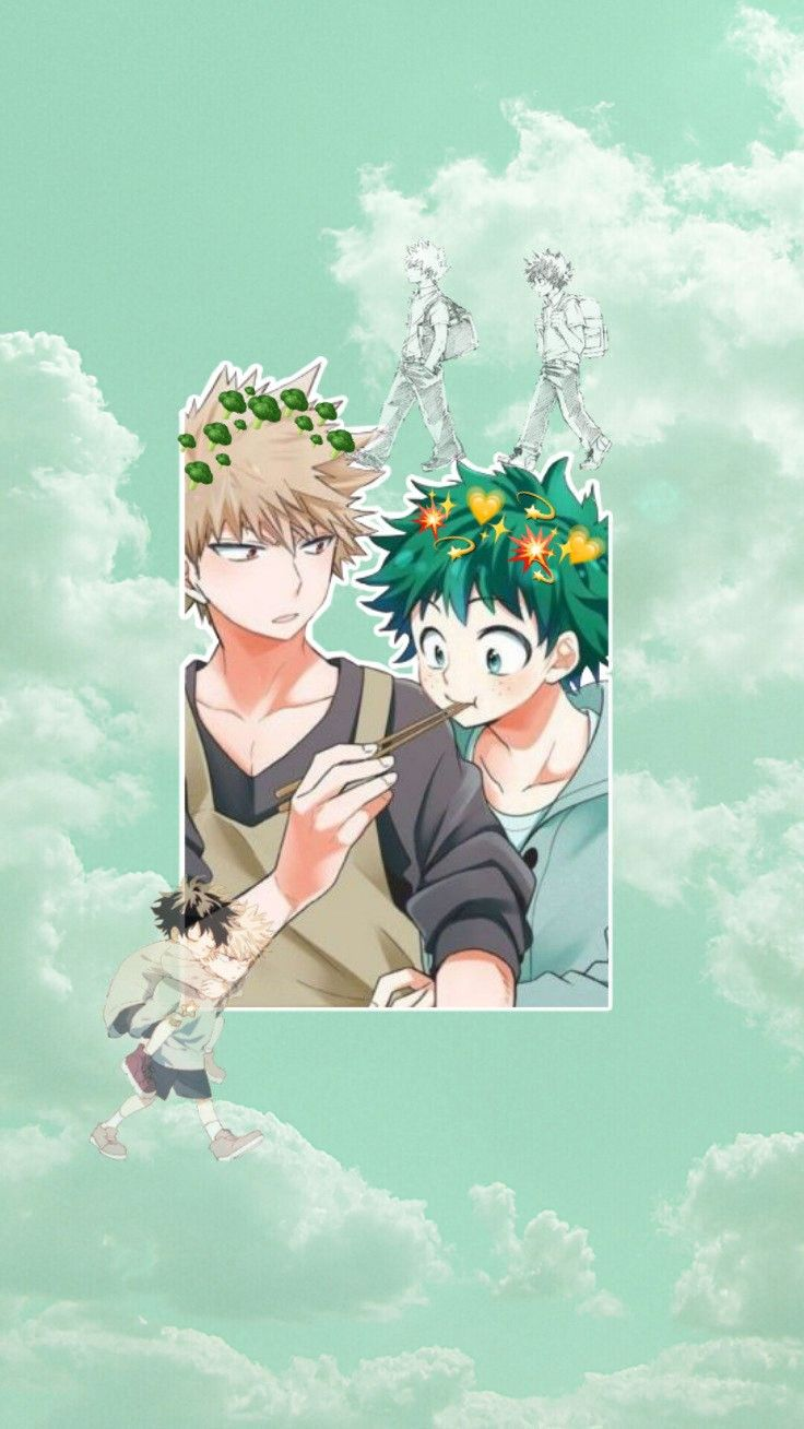 Bakedeku Cute Anime Wallpaper Cute Anime Character Hero Poster