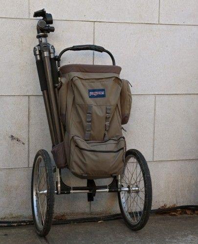 wheeled backpack 405x500 DIY Off Road Wheeled Backpack