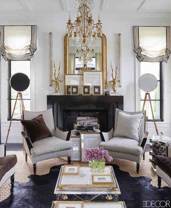 Megan Winters in ELLE DECOR