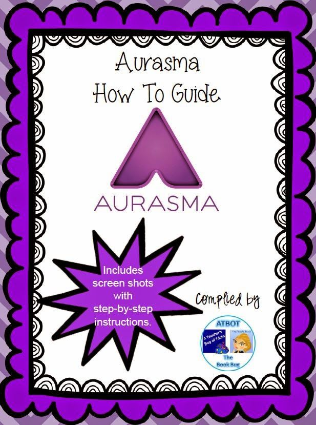 The Book Bug: Aurasma Book Hunt