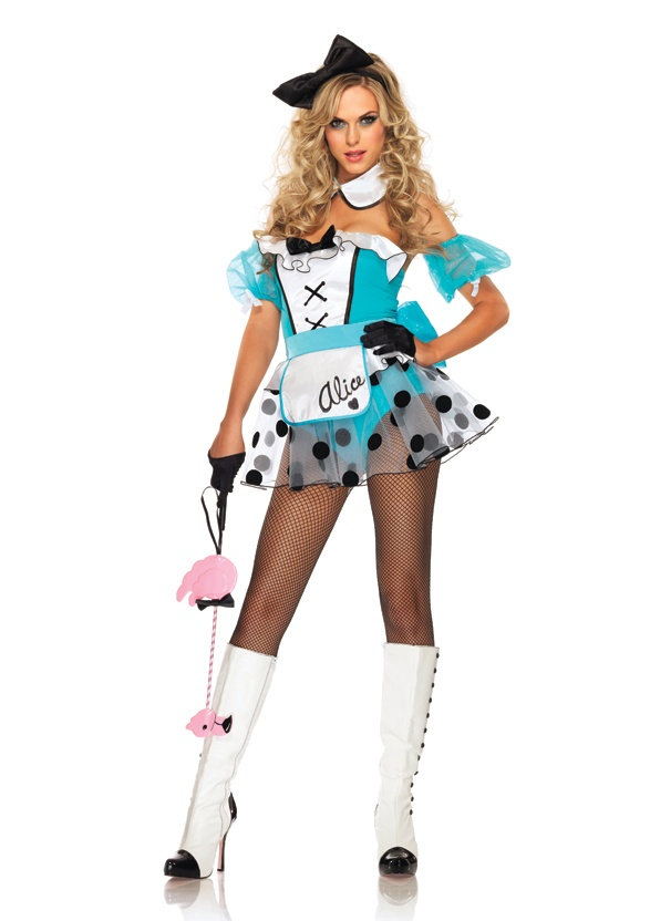 sexy alice in wonderland costumes dazzle in this sexy bad girl alice in wonderland costume designed to make you look hot officially licensed alice in - Halloween Costumes That Make You Look Skinny