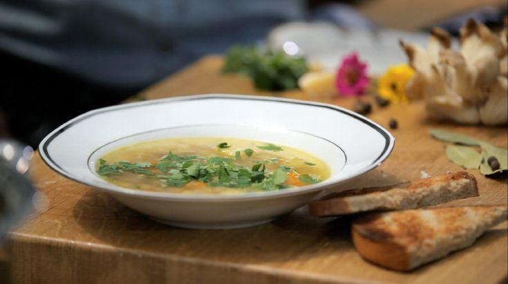 Polévka zhlívy ústřičné — Recepty — Herbář — Česká televize