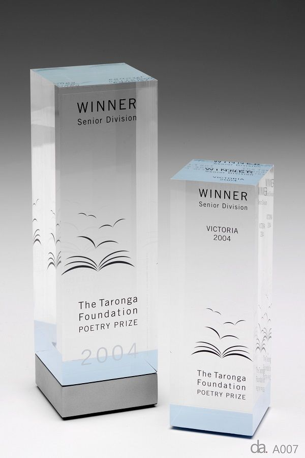 Acrylic Awards & Trophies | Design Awards | Melbourne & Sydney