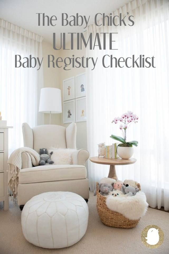 On the blog: I've written the ULTIMATE baby registry checklist that you don't want to miss. Available at www.baby-chick.com