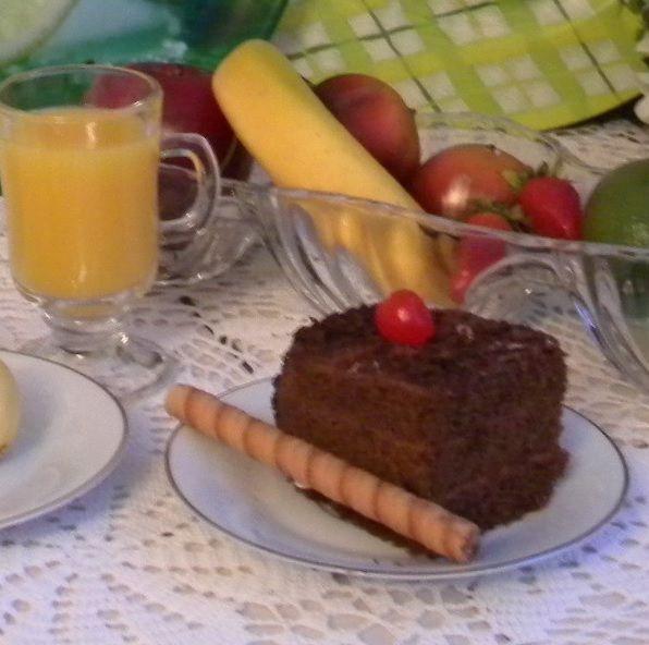 Pastel Envinado de Chocolate / Delicious Chocolate Cake