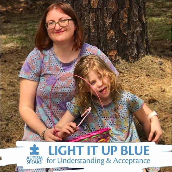 Autism Awareness ~ for my little Lilybug 💛 Please learn one thing about autism today.🎗It's such a wide spectrum with many different faces. My beautiful daughter is one of them. She's 9 years old, nonverbal, with classic autism. 💛 She also has a rare genetic disorder called Chromosome 22 Duplication Syndrome. Life with her is interesting, fun, sleep deprived, hard at times... but always worth it. She's awake 20 hours a day & has constant energy! She's super fast, intuitive, loves to jump…