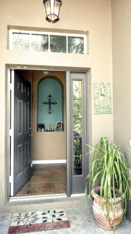 Florida Charm... Welcome Home! #door: Florida Charms