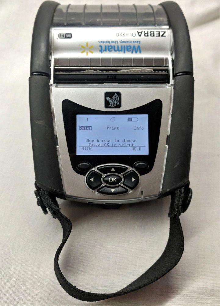 Zebra QLn320 Mobile Thermal Label Printer Bluetooth WiFi iOS