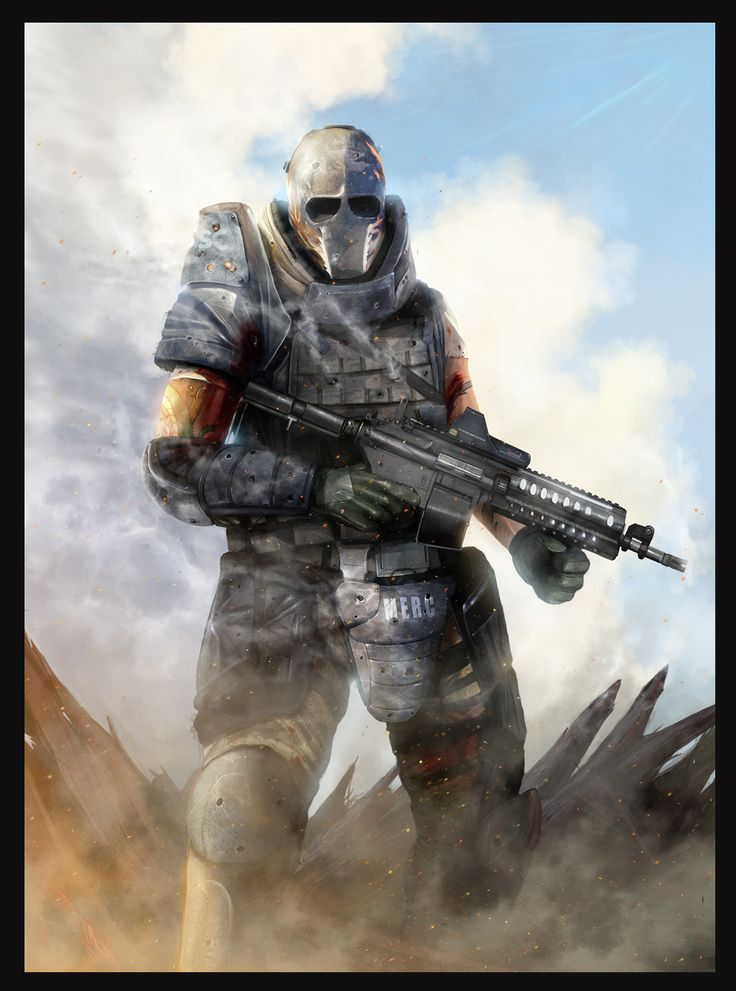Army Of Two: Just Business - by `DanLuVisiArt on deviantART