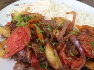 4th generation peruvian recipes: Lomo Saltado