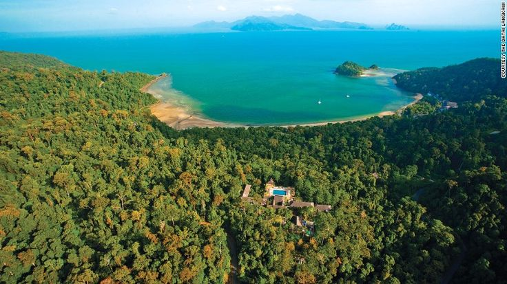 """No longer a """"best-kept-secret"""" among travelers, Malaysia's the Datai Langkawi is one of the world's best resorts hidden in a rainforest. Its Villa Hutan Datai is an exclusive 550-square-meter complex away from the main resort ground."""