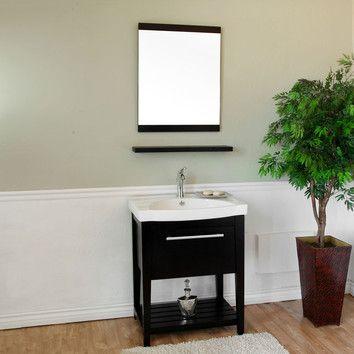 "Bellaterra Home Farnsworth 27.5"" Single Vanity Set"