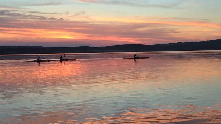 Hungary, Lake Velencei