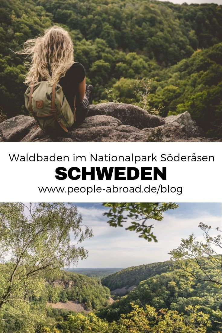 Waldbaden im Nationalpark Söderasen